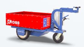 Kross: le chariot électrique pour transporter tout, partout, par tous, sans aucun effort